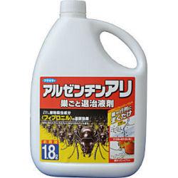 置くだけでしつこいアリをまとめて退治! 〈フィプロニル〉の連鎖殺虫パワーで巣ごと一掃! ヒアリ対策 アカカミアリ フマキラー アルゼンチンアリ巣ごと退治液剤 1.8L アルゼンチンアリに確実な効果 【北海道・沖縄・離島配送不可】
