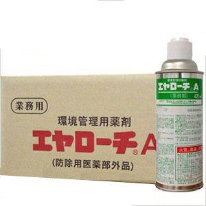 ゴキブリ駆除用即効・持続タイプの殺虫剤 エヤローチA 420ml×24本*ケース購入でお買得! 【送料無料】