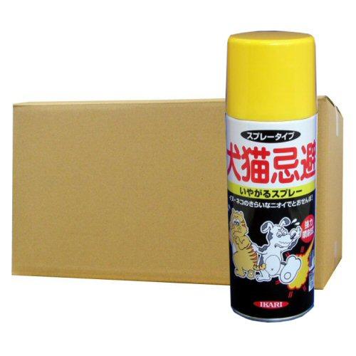 犬猫忌避いやがるスプレー 420ml×24本