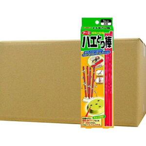 アース製薬 ハエとり棒 4本入×24箱【ハエ・蚊・コバエ駆除対策】