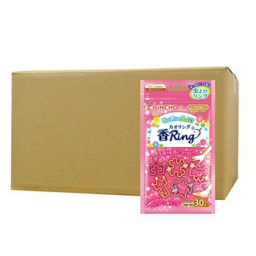 虫よけ香リング[カオリング] ピンクN 30個入×40個 KINCHO【金鳥】