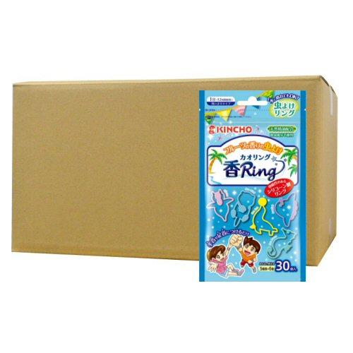 虫よけ香リング[カオリング] ブルーN 30個入×40個 KINCHO【金鳥】 【北海道・沖縄・離島配送不可】