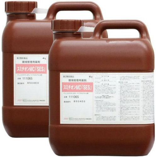 スミチオンMC「SES」 4kg×2本 南京虫トコジラミ駆除 【第2類医薬品】【送料無料】