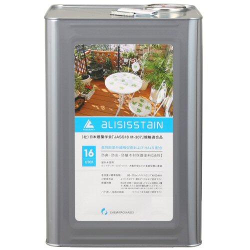 アリシスステイン ホワイトパイン 16L ケミプロ化成 [木材保護塗料] 【北海道・沖縄・離島配送不可】