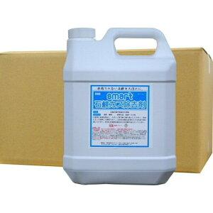 浴室・洗面所の石鹸カス汚れに石鹸カス除去剤 4L×4本 業務用