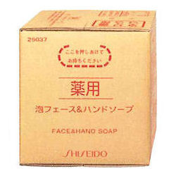 Shiseido Shiseido medicated foam interface & hand SOAP 10 L / bin business for