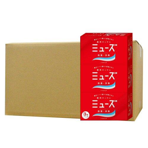 ミューズ 石鹸 バスサイズ 135g×3個×32個