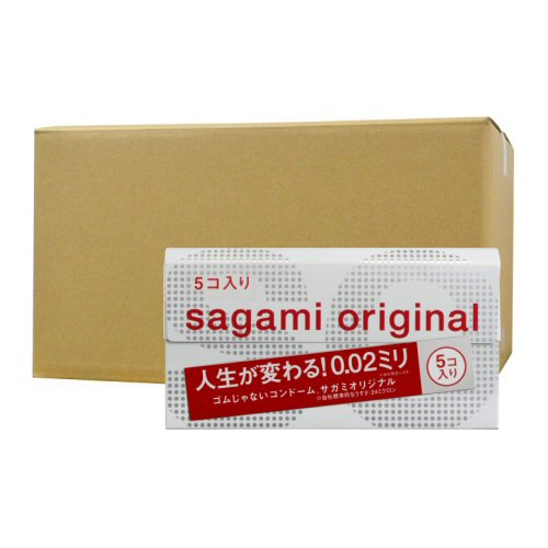 サガミオリジナル002 5個入×36箱 ポリウレタン コンドーム うすい やわらかい