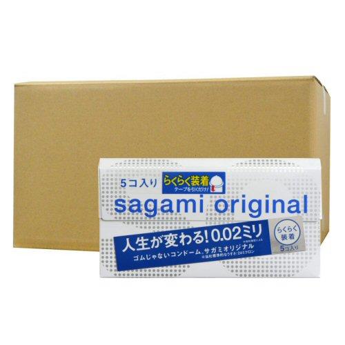 サガミオリジナル002 クイック 5個入×36箱 ポリウレタン コンドーム うすい やわらかい
