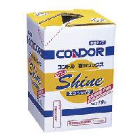 山崎産業 コンドル 樹脂ワックス エコシャイン[CH375-18LX-MB]18L ※返品不可※ 【送料無料】