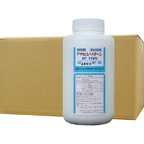 消泡剤 アサヒシリコーン AF118N 1L×10本 食品添加物[食品工業用・排水処理施設・下水・水処理施設]
