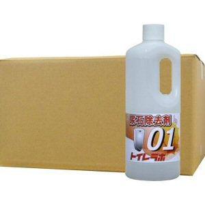 トイレラボ01 1L×12本 業務用尿石除去剤