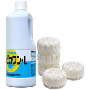 尿石除去・防止セット トレピカワンセット トイレの尿石除去剤と尿石防止剤のセットです。