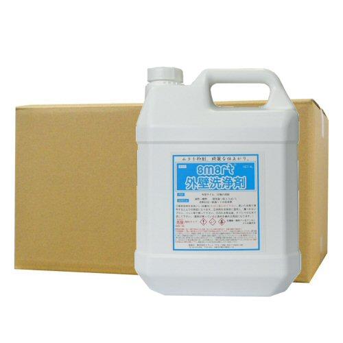スマート 外壁洗浄剤 4L×4本