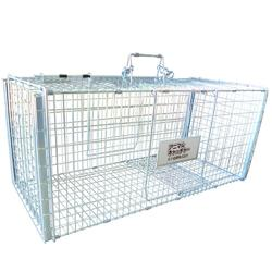 猫の保護器 大事な飼い猫の保護に 踏み板式捕獲器【送料無料】