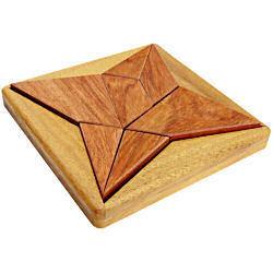 Response! Masterpiece of NOB PUZZLE Devil ( puzzle Devil ) wood puzzle