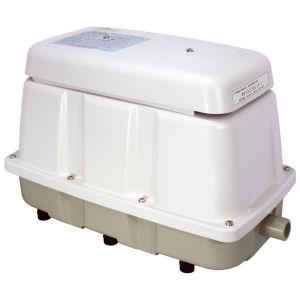小型合併浄化槽用エアーポンプブロア メドーブロワ LAM-200 日東工器ブロワー