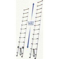 持ち運び便利な伸縮梯子!伸縮はしごPTH-380 3.83m 【送料無料】