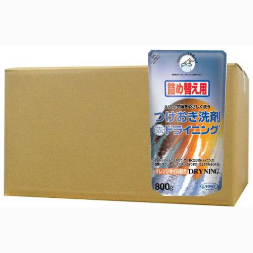 ドライニング ゲルタイプ 800g×12個ケース[詰め替え用] UYEKI(ウエキ)[ドライマーク衣料用洗剤]
