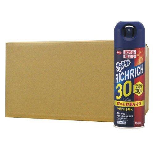 医薬品 サラテクト リッチリッチ30 200ml×20本 アース製薬 【第2類医薬品】