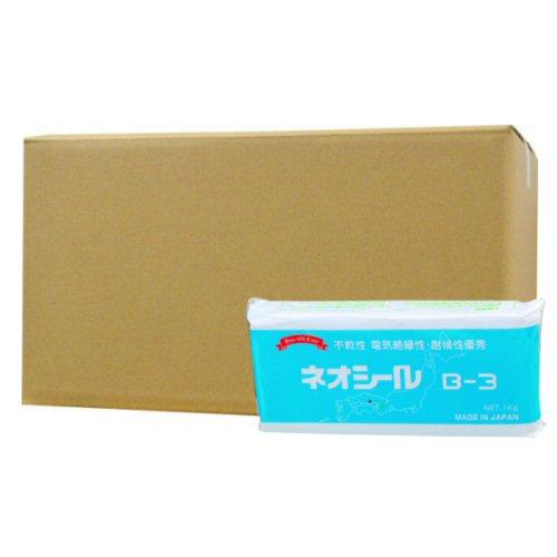 日東化成工業 ネオシールB-3×20個セット【ダークグレー】不乾性 電気絶縁性
