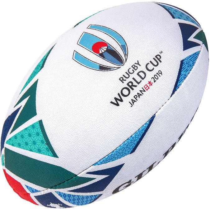 訳あり 塗装スレあり ギルバート GILBERT 2019年ラグビーワールドカップ レプリカボール ラグビーボール RWC2019 5号球 新品未使用正規品 日本開催 出色 グッズ