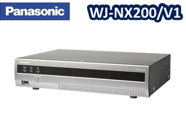 WJ-NX200V1 パナソニック Panasonic ネットワークディスクレコーダー 【新品】【送料無料】