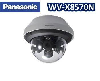 WV-X8570N Panasonic 4K4眼ドーム型ネットワークカメラ 屋外タイプ【送料無料】【新品】