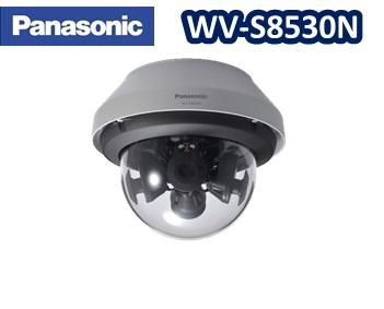 WV-S8530N Panasonic フルHD 4眼ドーム型ネットワークカメラ 屋外タイプ【送料無料】【新品】