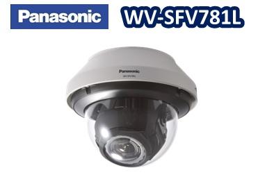 WV-SFV781L Panasonic アイプロシリーズ 12メガピクセル / 屋外対応赤外線(IR)4Kネットワークカメラ 【新品】