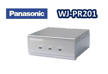 WJ-PR201 パナソニック PoE給電機能付 ブランド激安セール会場 同軸-LANコンバーター1CH レシーバー側 正規品 安心と信頼 在庫あり
