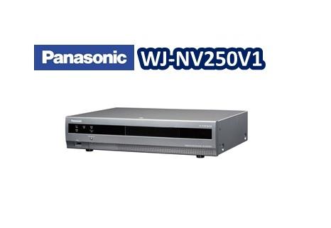 【在庫なし】【生産完了】Panasonic ネットワークディスクレコーダー WJ-NV250V1 【新品】