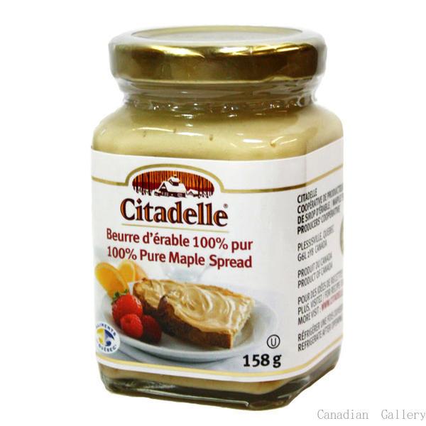 【24瓶】シタデール メープルスプレッド(メープルバター)158gメープルシロップをペースト状にしました。脂肪分はありません。