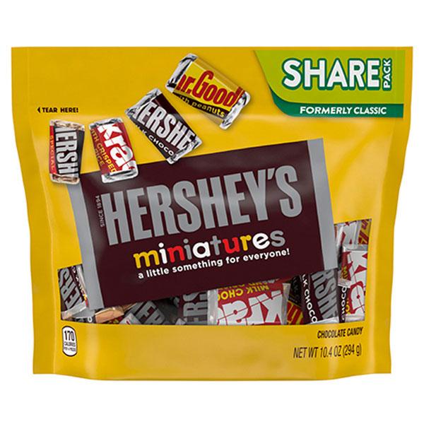 8袋 ハーシー ミニチュアーズ 294gクール便配送の選択可能沖縄は一部送料負担あり 高品質新品 シェアパック おすすめ特集 チョコレート