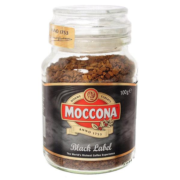 【12瓶】モッコナ ブラックラベル(インスタントコーヒー) 100g