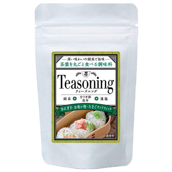 国産茶葉とかつお節 昆布と藻塩を合わせた新しい調味料 お気に入り 2袋 ティーズニング 緑茶だし塩 ポスト投函 28g メール便配送 代引不可 定価の67%OFF