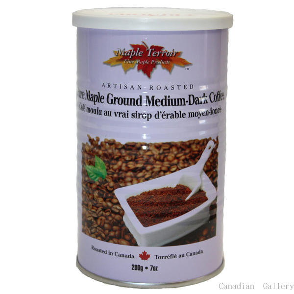 【12缶】メープルコーヒー ドリップ式のコーヒー豆(挽いてあります) 200gメープルシロップのフレーバーコーヒーです。