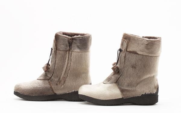 寒さに強い防寒靴 カナダ製 アザラシブーツ『Alaska』 大きいサイズ11.5=28.5cm程度