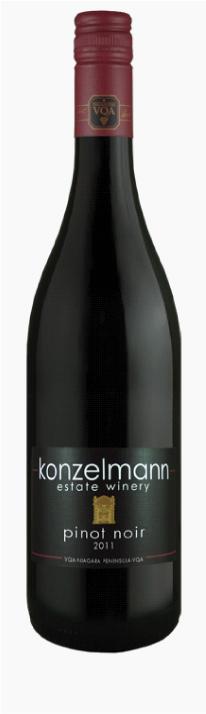 酸もやさしく果実味あふれる味わい カナダ 赤ワイン コンゼルマンエステート 即出荷 予約 ワイナリーピノノワール750ml