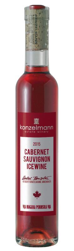 休日 春の新作続々 カナダアイスワイン コンゼルマン 200ml カベルネソーヴィニヨン