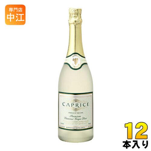 パナバック カプリース ノンアルコールスパークリングワイン 750ml 瓶 12本入