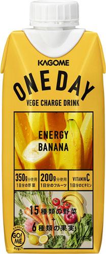 [during coupon distribution] 36 KAGOME ONEDAY ENERGY BANANA 330 ml packs  (12 Motoiri *3 bulk buyings)