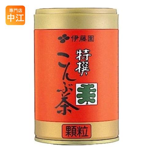 〔クーポン配布中〕 伊藤園 特選こんぶ茶 65g 缶(32.5g×2袋) 40本 (20本入×2 まとめ買い)