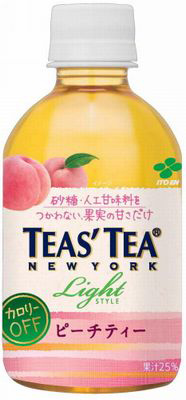 280 ml of 24 Ito En, Ltd. TEAS'TEA Tees tea rose & peach tea pet Motoiri [tea flavor tea peach flavor こうちゃ peach]