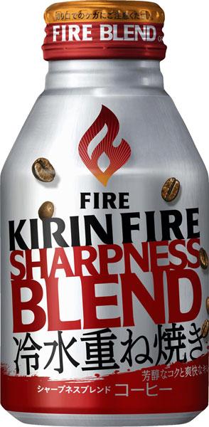 기린 FIRE 파이어 선명도 혼합 260g 병 캔 24 개 入 〔 캔 커피 ファイアシャープネスー 스탠다드 타입가 당 〕