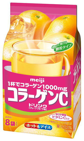 Meiji collagen C drink 10 g x 8 bag 10 bags [health beverage powder Kora-abcdcurrent]
