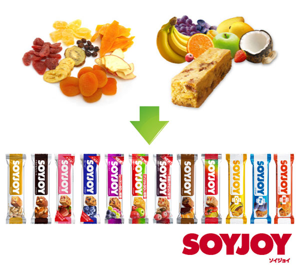 soy joy is a great gluten free snack that can be bought at convenience stores across Japan