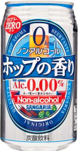 Canned 350 g of fragrance calorie zero 24 Motoiri [beerlike beverage] of the Sangaria non-alcohol hop
