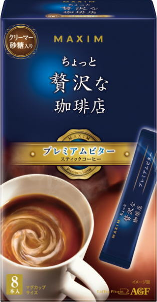 AGF Maxim stick coffee a luxury coffee shop •Bonbon (7 g x 8) 24-box [MAXIM coffee]