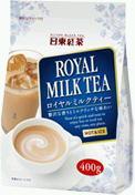 附带即席皇家日东红茶牛奶茶400g 24袋入〔粉末型红茶RoyalMilkTea拉锁的〕